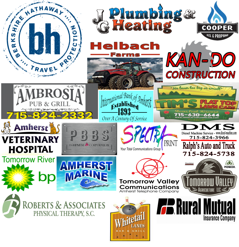 Portage County Fair of Amherst Sponsors